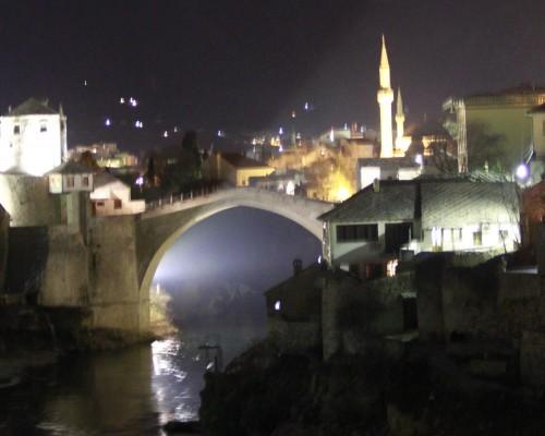 Bir gece vakti Mostar