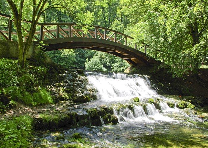 Saraybosna'nın en güzel köşelerinden biri Vrelo Bosna